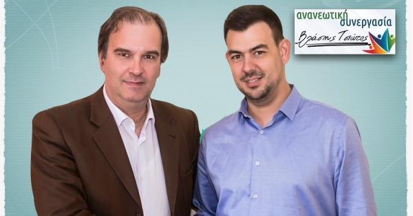 Yποψήφιος με την Ανανεωτική Συνεργασία ο Δημήτρης Μπούρας