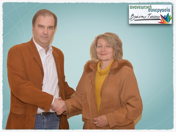 Yποψήφια με την Ανανεωτική Συνεργασία η Κωνσταντίνα Παναγιωτοπούλου